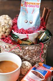Coffee Gift Basket White Chocolate Peppermint Caramel Coffee Coffee Lover U0027s Gift