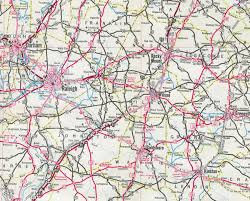 Usa Interstate Map by Interstate Guide Interstate 587 North Carolina
