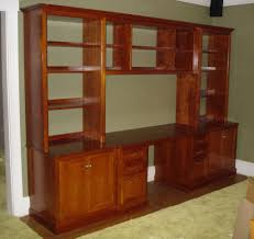 Custom Home Office Cabinets In Home Office Custom Built Home Office Cabinets In Springfield