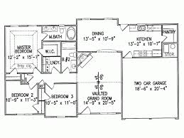 eplans ranch house plan large walk in closet in master bedroom