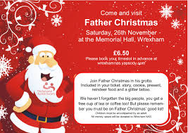 father christmas u0027 grotto nas wrexham eventsnwales charity
