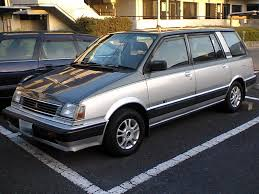 1987 mitsubishi cordia mitsubishi chariot