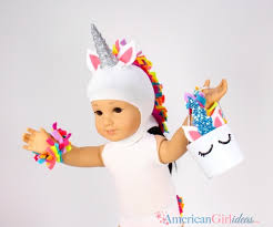 Unicorn Costume Diy American Doll Unicorn Costume American Ideas