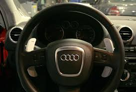 audi a4 paddle shifters dsg big paddle shifters for audi
