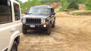 jeep commander lifted jeep commanders off roading at the badlands 05 28 2011 part 1
