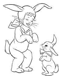 peter cottontail coloring pages easter coming coloring
