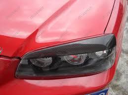 hyundai elantra 2005 headlight bulb carbon fiber headlight eyebrows eyelids covers for 2000 2006