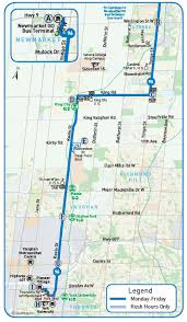 Toronto Subway Map Ttc Line 1 Subway Extension Yrt Viva
