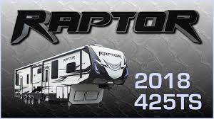 new 2018 keystone raptor 425ts 9358
