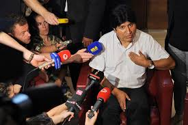 evo morales latin america angry at us for downing evo morales airplane