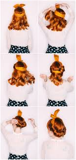 simple hairstyles with one elastic five easy hairstyles with a headband a beautiful mess