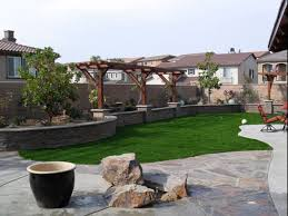Backyards Ideas Landscape Simple Backyard Landscaping Ideas New With Photo Of Simple