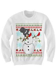 sweater dabbin snowman sweater