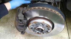 diy 30 minutes caliper brake drums paint job vw passat cc