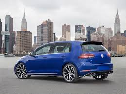 volkswagen gti blue 2017 volkswagen updates all the golfs for 2018 the drive