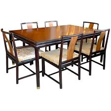 Dining Table And Six Chairs Stuart Walnut And Mahogany Dining Table And Six Chairs For