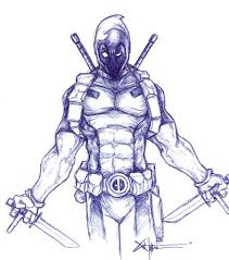 deadpool says your number one by chrisozfulton on deviantart