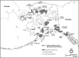 Tanana Alaska Map by Alaska Subsistence A Nps Management History Chapter 1