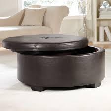 small round tufted ottoman furniture white leather ottoman coffee table furniture storage