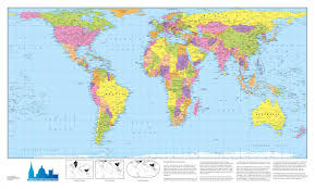 Is Time Zone Map by Mapsherpa Oxford Cartographers
