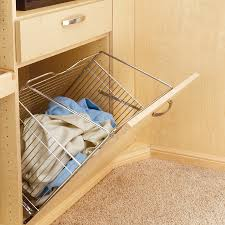 Pull Out Laundry Cabinet Furniture Inspiring Elegant Clothes Storage Ideas With Tilt Out