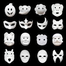 paper halloween mask paper face masks for kids promotion shop for promotional paper
