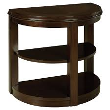 half circle accent table half circle side table materialwant co