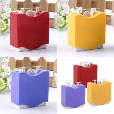 1 pcs plastic automatic toothpick holder toothpick box dispenser