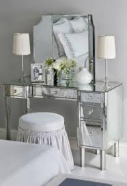 Silver Vanity Chair Mosaic Bathroom Design His And Hers Bathroom Decor House Beautiful