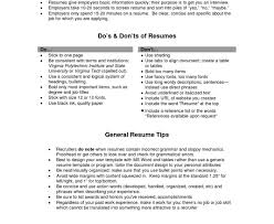 the word resume generic resume objective exles exles of resumes