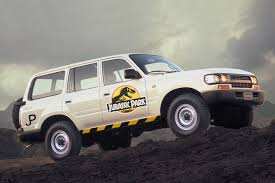 the real u0027jurassic park u0027 suvs were actually toyota land cruisers