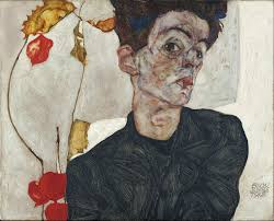 egon schiele self portrait with physalis google art project jpg
