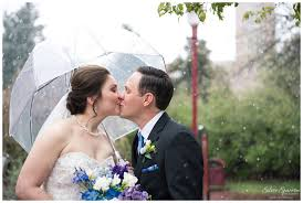 Denver Wedding Photographers Snowy Spring Wedding At Evans Chapel Denver Wedding Photographer