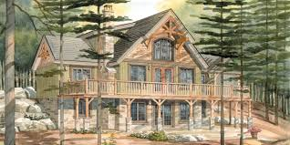 Top  Normerica Custom Timber Frame Home Designs Carleton - Senior home design