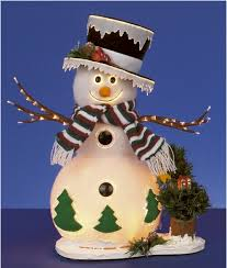 cheap christmas decorations fibre optic christmas snowman and xmas