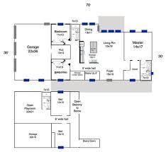 Morton Building Floor Plans Open Floor Plans Barn Homescost To Build Open Floor Plan House