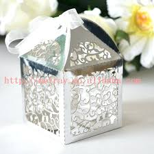 wedding favors wholesale wedding favor boxes personalized hot sale vine silver