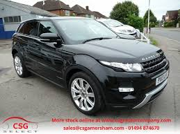 range rover sunroof open used black land rover range rover evoque for sale buckinghamshire