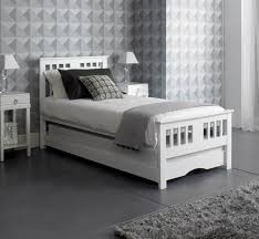 Pullout Bed White Gloss 3ft Single Pull Out Guest Bed Artisan Whiteguest