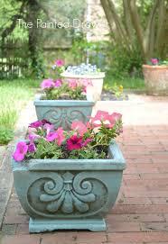 images about provence chalk paintA pinterest annie update concrete planters with wash provence chalk paintA decorative paint annie sloan