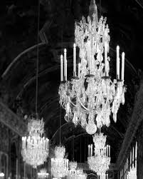 versailles chandelier chandelier print versailles photo black and white