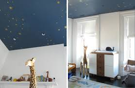Starry Night Ceiling by Cheeky Monkey Home