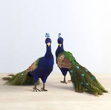 milda s these sisal peacock table ornaments are a wonderful