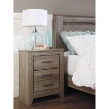 Zelen Bedroom Set Dimensions Signature Design By Ashley Zelen Night Stand Walmart Com