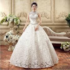 wedding dresses online shopping 2016 wedding dresses collar bone pierced car qi wedding