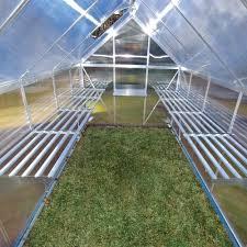 Palram Greenhouse Palram Heavy Duty Greenhouse Shelf Kit Greenhouses From Garden