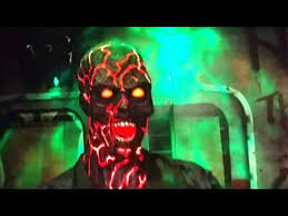 spirit halloween animatronics smoldering zombie corps halloween