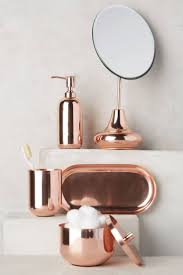 decorating remarkable fabulous copper bathroom wastebasket with