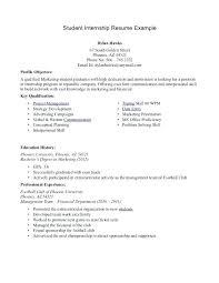 congressional intern resume political intern resume example
