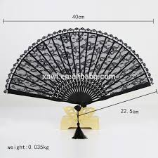 black lace fan lace fan lace fan suppliers and manufacturers at